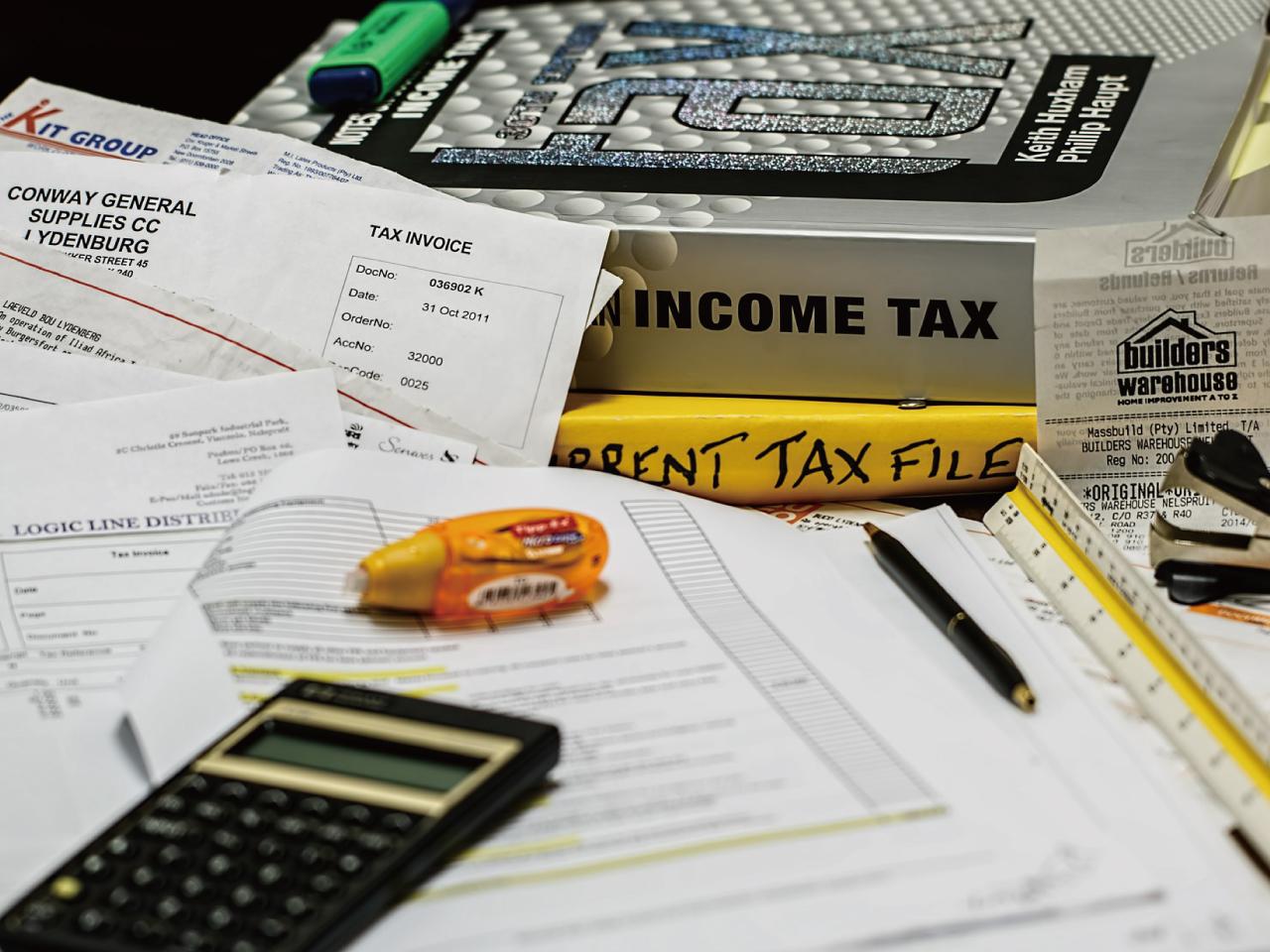 電卓と税金